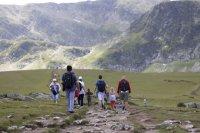 spacer w górach